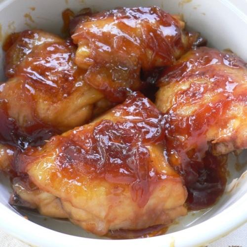 Pollo arrosto con sciroppo d'acero