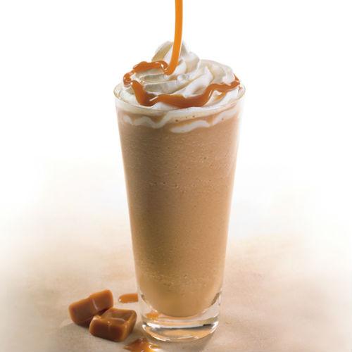 Caffè freddo allo sciroppo d'acero