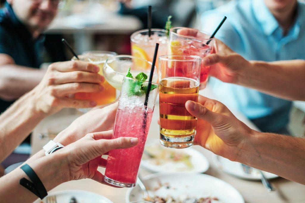 Cocktail con sciroppo d'acero