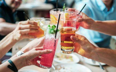 Cocktail con sciroppo d'acero, dal cuore dolce e sorprendente.
