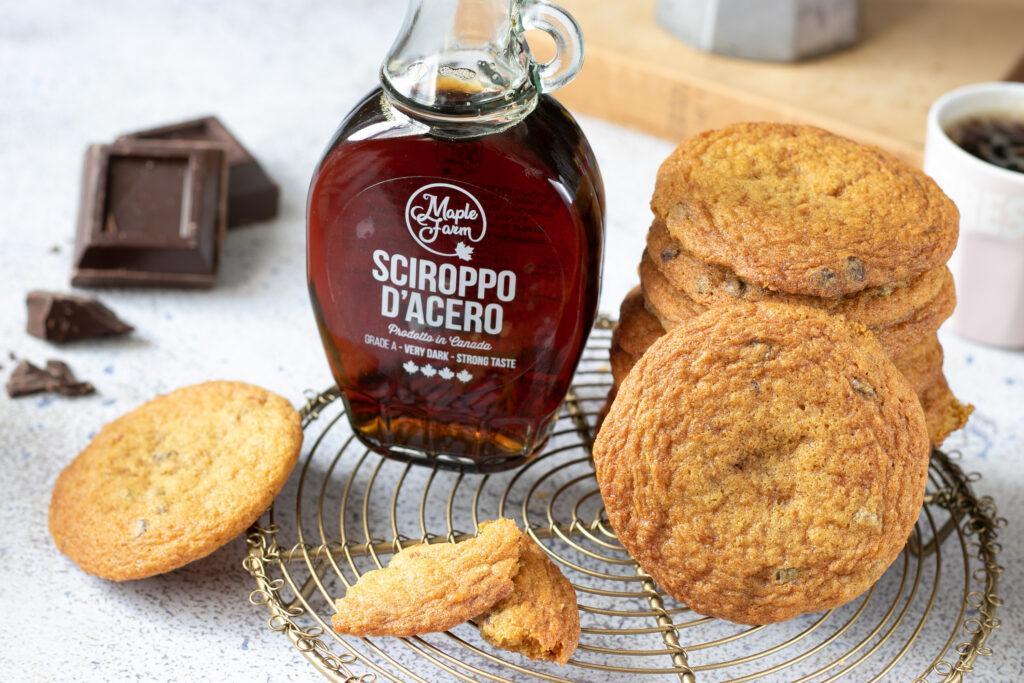 cookies allo sciroppo d'acero