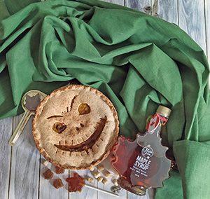 Pumpkin pie terrificante con sciroppo d'acero